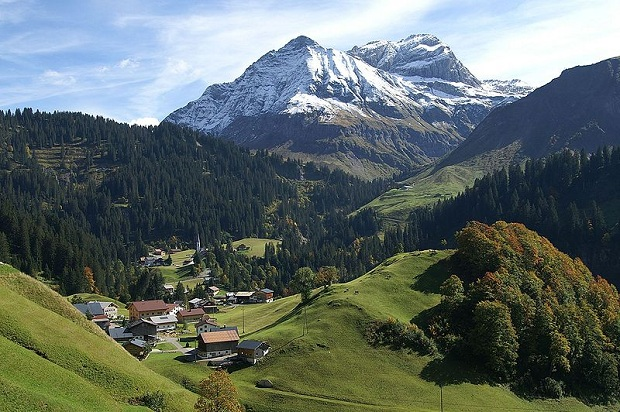 Itävaltalaisia alppimaisemia. (kuva: böhringer friedrich CC-SA)