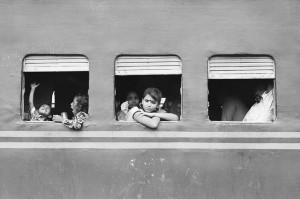 Juna on mukava tapa matkustaa (Kuva: Sudipta Arka Das CC BY-SA 2.0)