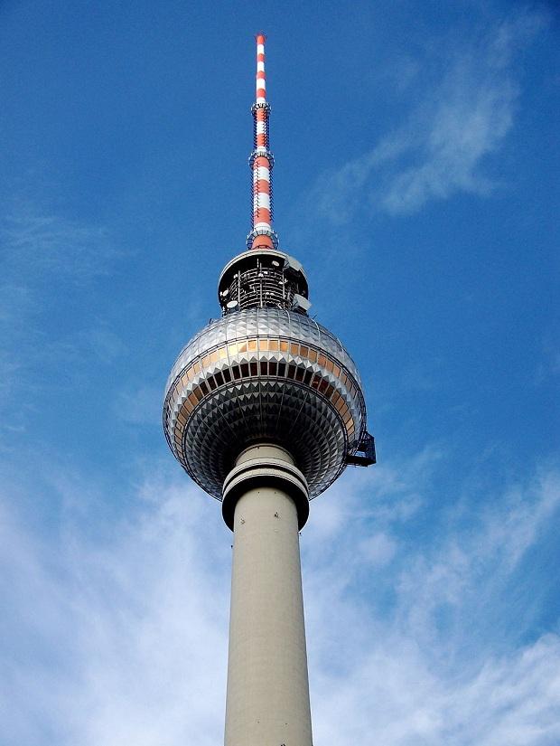 Televisiotorni on Berliinin ehdoton maamerkki. (kuva: MarcusPink CC-SA)