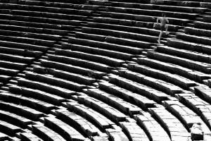 Amfiteatteri soveltuu myös kunnonkohottamiseen (Kuva: Tuncay Coşkun CC BY 2.0)