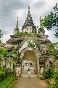Wat Suan Dok -temppeli (kuva: Kokunut555 CC-BY-SA)