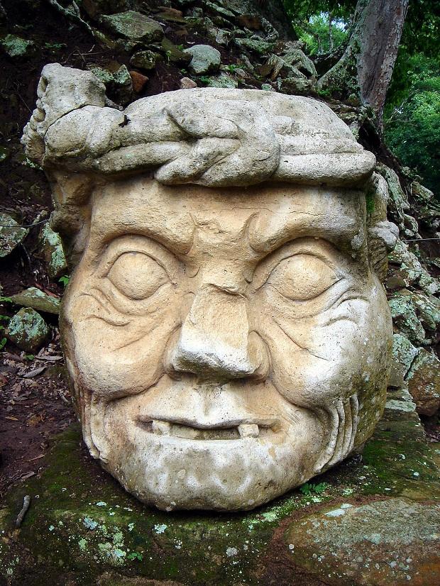Yksityiskohta Copánin mayatemppelialueelta. (kuva: soyignatius CC-BY)
