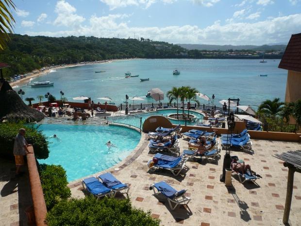 Sosua Beach Dominikaanisessa Tasavallassa