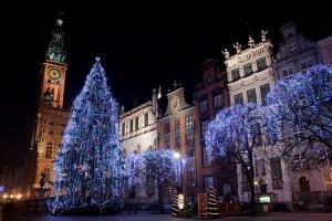 Gdańskin vanha kaupunki on erityisen idyllinen joulun aikaan (Kuva: Adam Kuśmierz CC BY-ND 2.0)