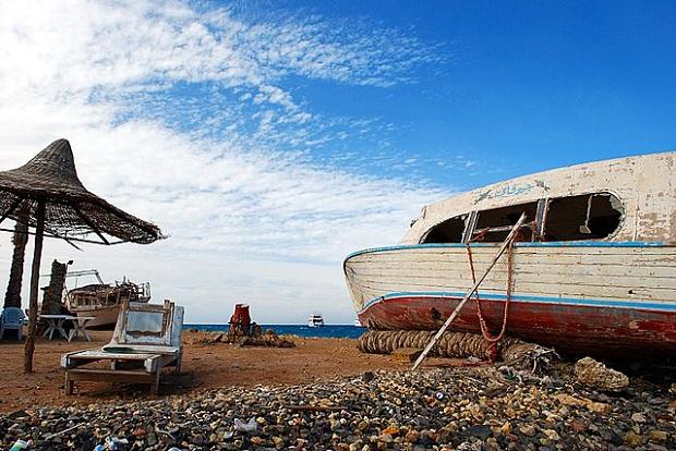 Hurghadan rantaa (kuva: Davidlohr Bueso CC-BY)