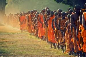 Buddhalaisuus on merkittävä uskonto Kambodžassa (Kuva: Balint Földesi CC BY 2.0)
