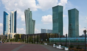 Astanan siluetti (Kuva: ninara CC BY 2.0)