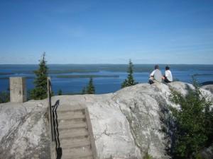 Järvimaisema Kolin kansallispuistossa