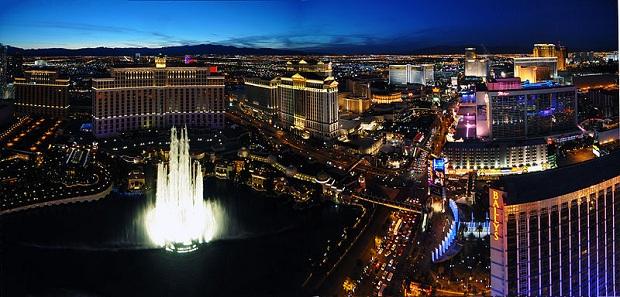 Näkymä Las Vegasin ylle. (kuva: chensiyuan CC-SA)
