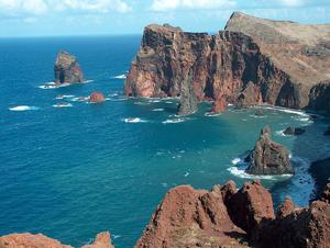 Madeiran saaret ovat muodostuneet tulivuorenpurkauksista