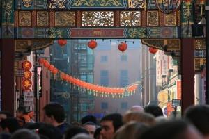 Chinatownissa on tunnelmaa (Kuva: Pete Birkinshaw CC BY 2.0)
