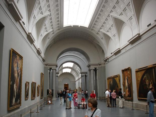 Museo del Prado kuuluu taiteen kultaiseen kolmioon. (kuva: losmininos CC-SA)