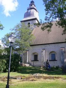 Naantalin kirkko on kaupungin tunnus (Kuva: markow76 CC BY 2.0)