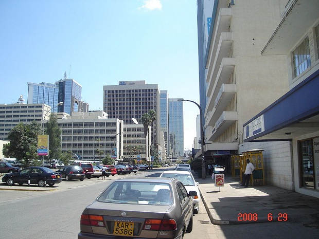 Nairobi on Afrikan suurimpia kaupunkeja. (kuva: Bobokine CC-SA)