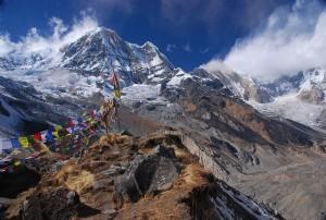 Annapurnan vuoristo (Kuva: Vera & Jean-Christophe CC BY-SA 2.0)
