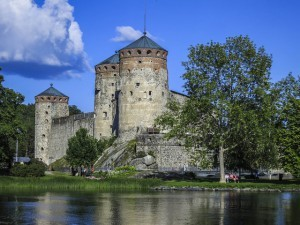 Olavinlinna huokuu historiaa (Kuva: ninara CC BY 2.0)