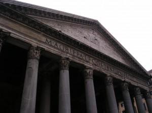 Historia on näkyvillä kaikkialla Roomassa