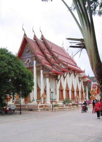 Wat Chalong temppeli Phuketissa