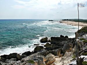 Cozumelin saaren rannikko