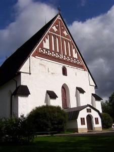 Porvoon kirkko on peräisin 1400-luvulta (Kuva: strzelec CC BY 2.0)