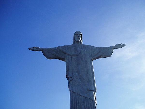 Kirstus-patsas Corcovadon huipulla