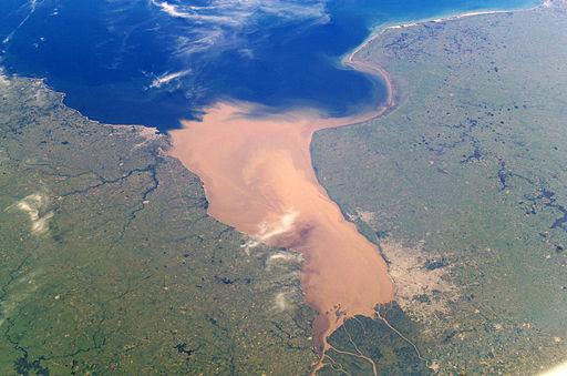 Rio de la Plata ilmasta käsin.