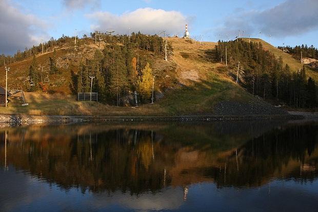 Rukan lumettomat eturinteet lokakuussa. (kuva: MattiPaavola CC-SA)