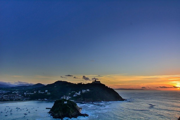 San Sebastiánin auringonlasku (Kuva: Sascha Sormann CC BY-ND 2.0)
