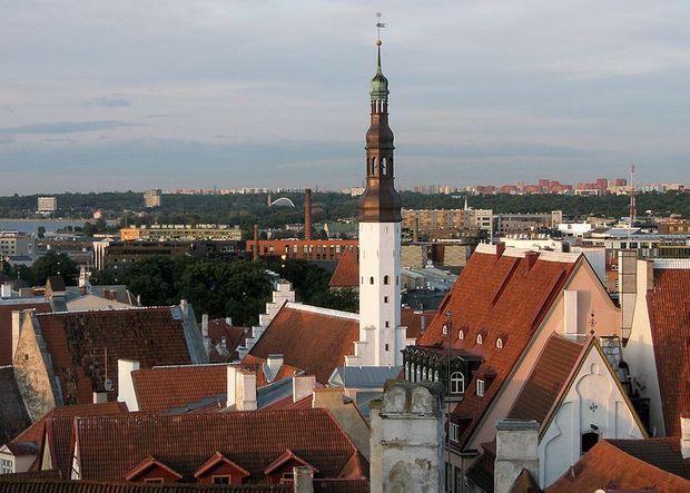 Tallinnan kattonäkymä