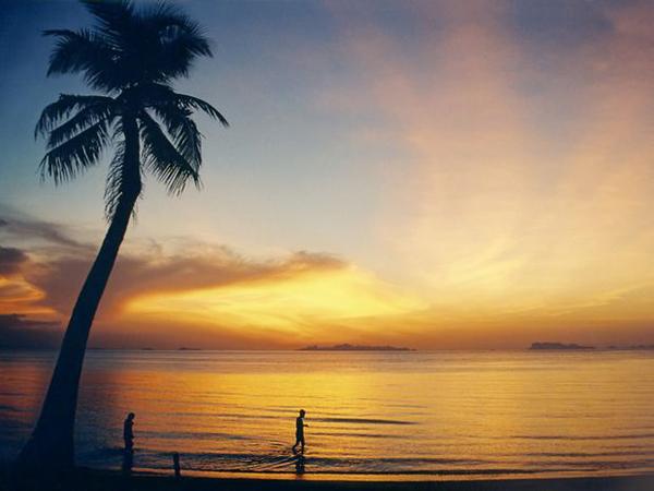 Thaimaa - Koh Samui ja auringonlasku