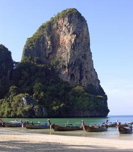 Thaiwandin kallioseinämä