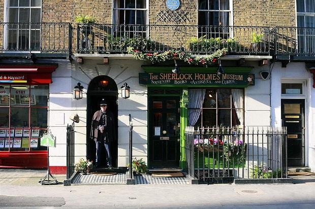 """Sherlock Holmesin """"kotitalossa"""" toimii museo. (kuva: Cezary CC-SA)"""