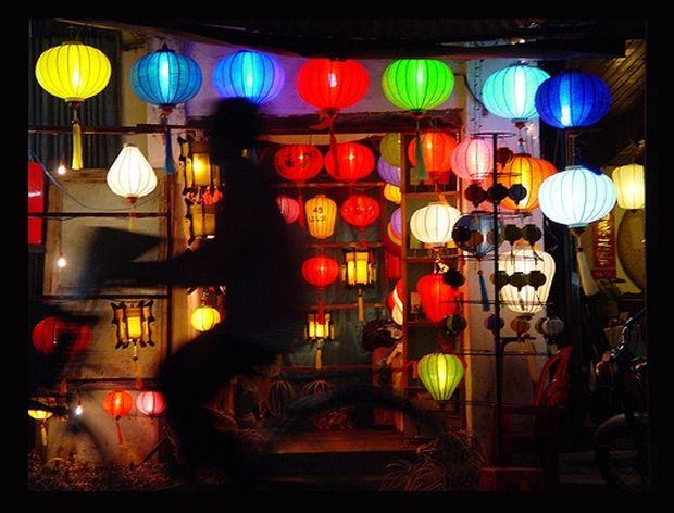Värikäs ilta Vietnamissa